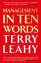 Management in 10 Words eBook by Terry Leahy