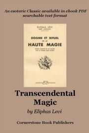 Transcendental Magic ebook by Levi, Eliphas