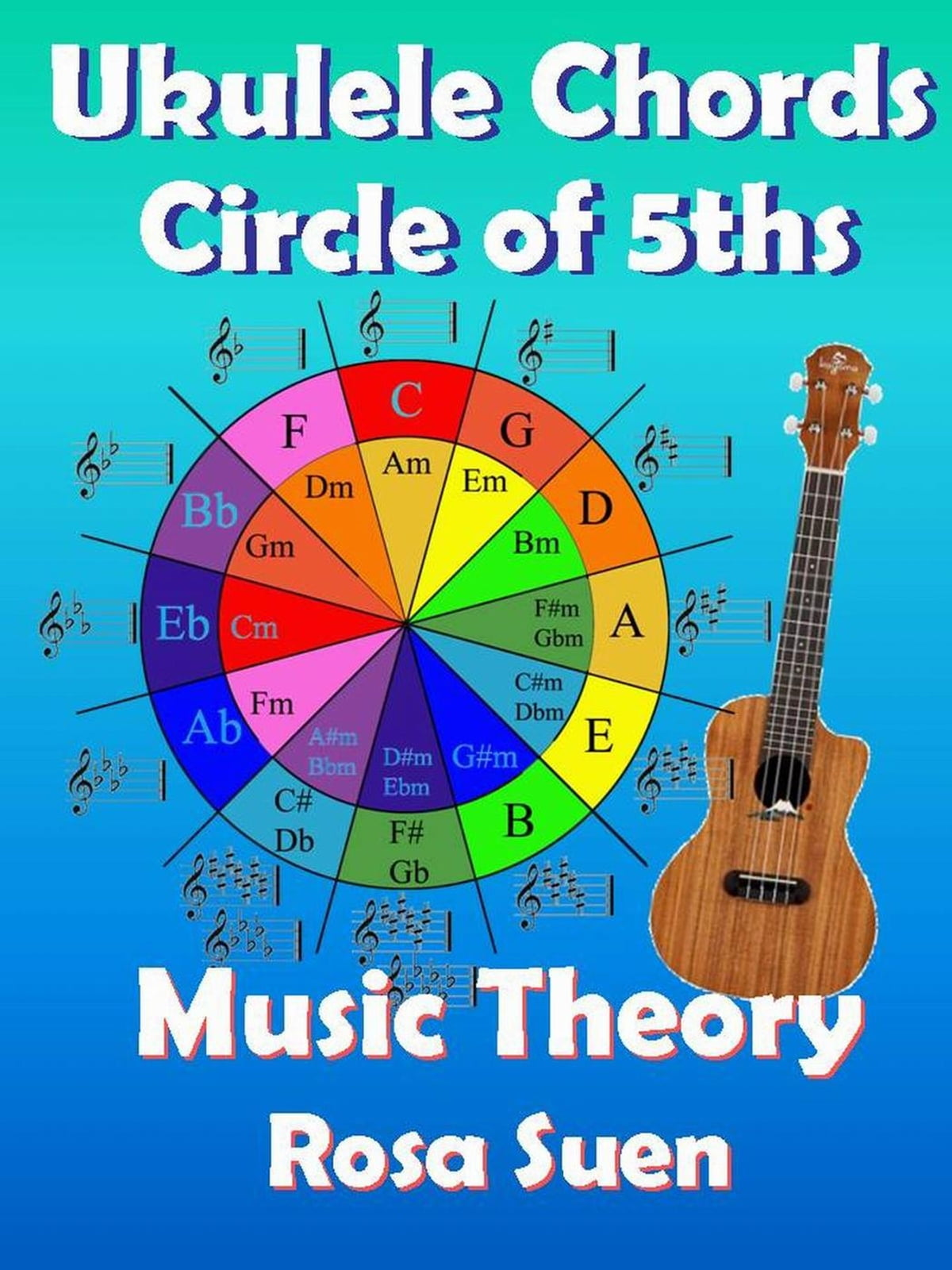 Music theory ukulele chord theory circle of fifths ebook by music theory ukulele chord theory circle of fifths ebook by rosa suen 9781501460791 rakuten kobo hexwebz Images