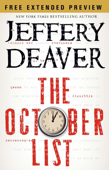 The October List - Free Preview (first 4 chapters) ebook by Jeffery Deaver