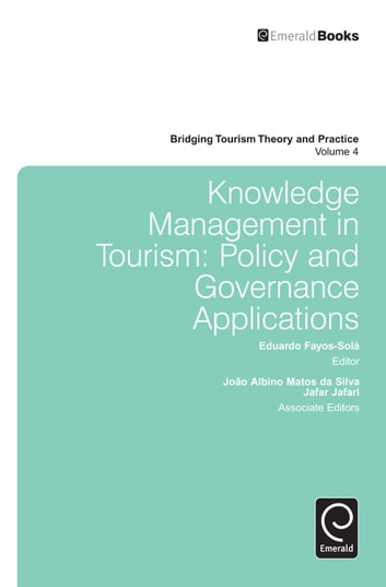 Knowledge Management in Tourism - Policy and Governance Applications ebook by Jafar Jafari,Liping Cai