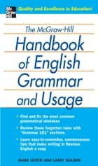The McGraw-Hill Handbook of English Grammar and Usage ebook by Mark Lester,Larry Beason
