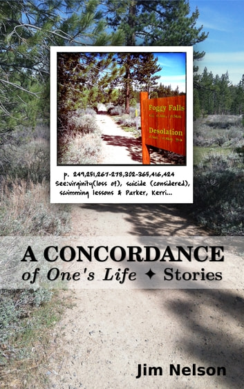 A Concordance of One's Life ebook by Jim Nelson