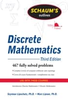 Schaum's Outline of Discrete Mathematics, Revised Third Edition ebook by Seymour Lipschutz,Marc Lipson