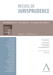 Recueil de jurisprudence - Responsabilité - Assurances - Accidents du travail (Belgique) ebook by Claude Devoet (sous la direction de),Jean-Luc Fagnart (sous la direction de),Jessica Loly (sous la coordination de)