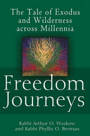 Freedom Journeys - The Tale of Exodus and Wilderness across Millennia ebook by Rabbi Arthur O. Waskow,Rabbi Phyllis O. Berman