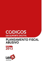 Lei do Planeamento Fiscal Abusivo 2013 ebook by Lexit