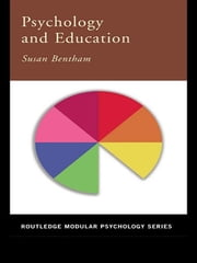 Psychology and Education ebook by Susan Bentham