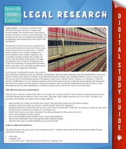 Legal Research (Speedy Study Guide) ebook by Speedy Publishing