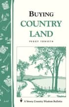 Buying Country Land ebook by Peggy Tonseth