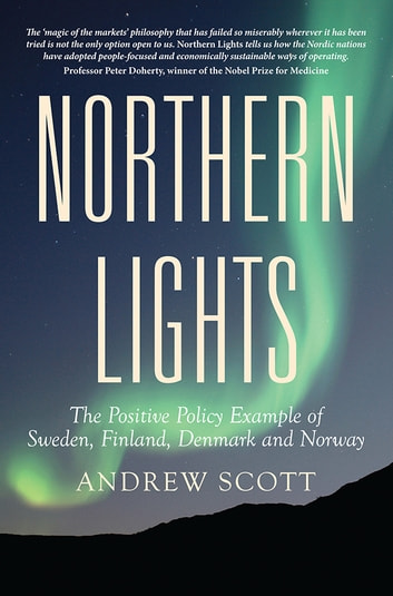 Northern Lights - The Positive Policy Example of Sweden, Finland, Denmark and Norway ebook by Andrew Scott