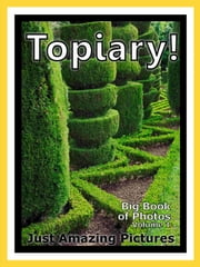 Just Topiary Photos! Big Book of Photographs & Pictures of Topiary, Vol. 1 ebook by Big Book of Photos