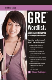 GRE Word List: 491 Essential Words ebook by Vibrant Publishers