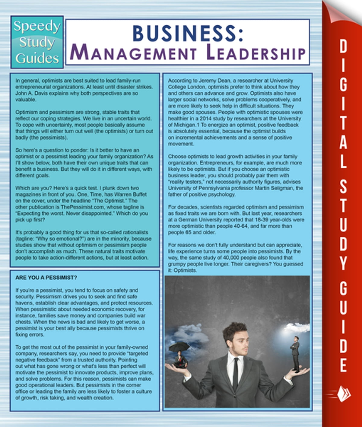 Business: Management Leadership (Speedy Study Guides) eBook by Speedy  Publishing - 9781681276359 | Rakuten Kobo