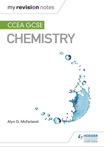 My revision notes ccea gcse chemistry ebook by alyn g mcfarland my revision notes ccea gcse chemistry ebook by alyn g mcfarland urtaz Gallery
