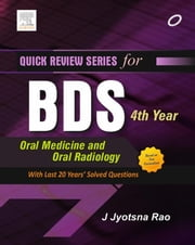 QRS for BDS 4th Year - Oral Medicine and Radiology ebook by Jyotsna Rao