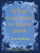What You Need to Know Now - The Lee Ching Messages ebook by Tony Burroughs