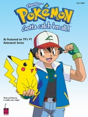 Pokemon Theme - Easy Piano ebook by Shinji Miyazaki