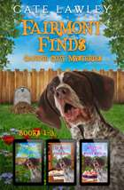 Fairmont Finds Canine Cozy Mysteries: Books 1-3 ebook by Cate Lawley