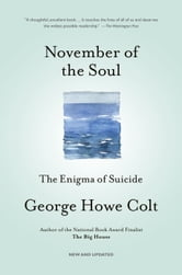 November of the Soul - The Enigma of Suicide ebook by George Howe Colt