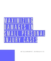 Maximizing Damages in Small Personal Injury Cases ebook by Ellsworth Rundlett