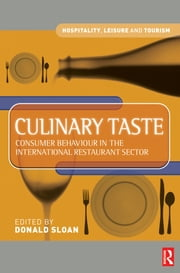 Culinary Taste ebook by Donald Sloan,Prue Leith