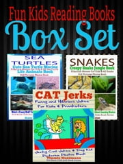 Fun Kids Reading Books Box Set: Snakes: Creepy Snake Jungle Book - Hilarious Memes For Kids & All Snake Kid Pictures Photos Book - Weird & Funny Stuff To Learn About Snakes + Sea Turtles + Cat Jerks - Kid Book Club Animals Kids Book Series ebook by Kate Cruise