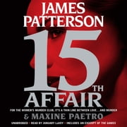 15th Affair audiobook by James Patterson, Maxine Paetro