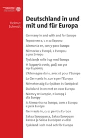 Deutschland in und mit und für Europa - Germany in and with and for Europe - and also in 14 other languages ebook by Kobo.Web.Store.Products.Fields.ContributorFieldViewModel