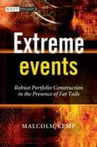 Extreme Events ebook by Malcolm Kemp