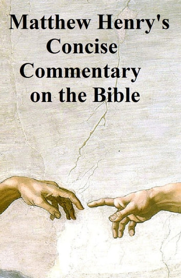 matthew henry concise bible commentary pdf