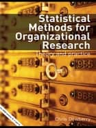Statistical Methods for Organizational Research ebook by Chris Dewberry