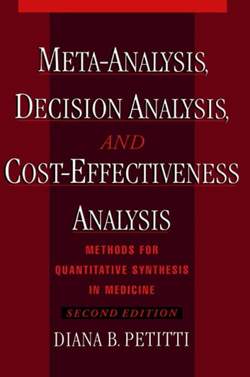 Meta analysis decision analysis and cost effectiveness analysis meta analysis decision analysis and cost effectiveness analysis methods for quantitative synthesis in fandeluxe Image collections