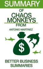 Chaos Monkeys | Summary ebook by Better Business Summaries