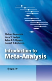 Introduction to Meta-Analysis ebook by Michael Borenstein,Larry V. Hedges,Julian P. T. Higgins,Hannah R. Rothstein