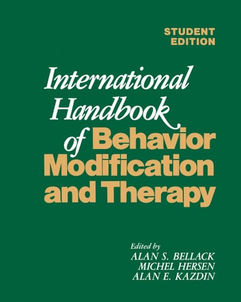 International Handbook of Behavior Modification and Therapy ebook by