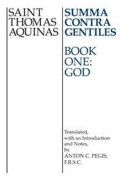 Summa Contra Gentiles - Book One: God ebook by Kobo.Web.Store.Products.Fields.ContributorFieldViewModel