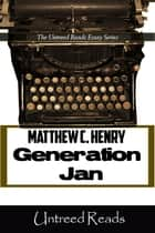 Generation Jan ebook by Matthew C. Henry