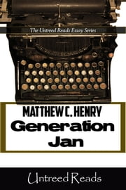 Generation Jan - The X'ers as Middle Children ebook by Matthew C. Henry