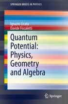 Quantum Potential: Physics, Geometry and Algebra ebook by Ignazio Licata,Davide Fiscaletti