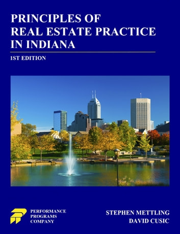 Principles Of Real Estate Practice In Indiana Ebook By Stephen