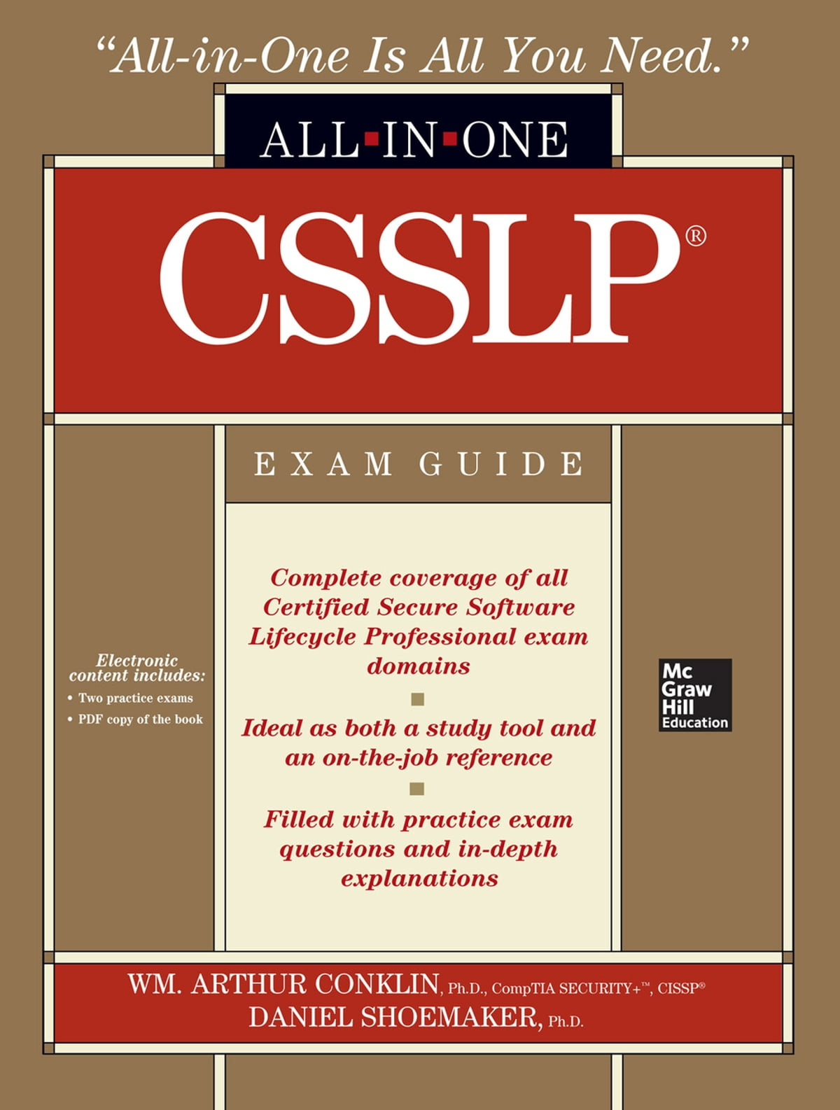 Csslp certification all in one exam guide ebook by wm arthur csslp certification all in one exam guide ebook by wm arthur conklin 9780071760256 rakuten kobo 1betcityfo Gallery