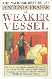 The Weaker Vessel - Women's Lot in Seventeenth-Century England ebook by Antonia Fraser