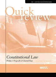 Quick Review of Constitutional Law ebook by Philip Prygoski,Daniel Ray