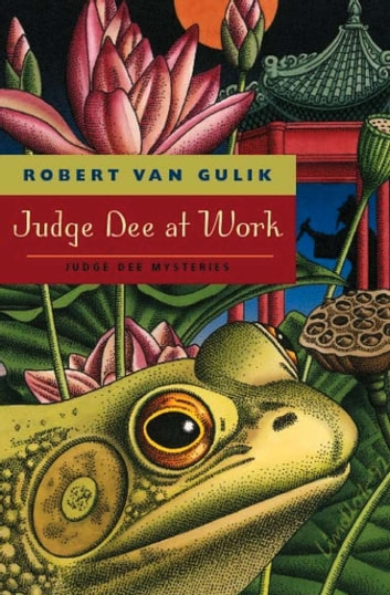 judge dee chinese fiction essay Van gulik's judge dee mysteries follow the long tradition of chinese detective fiction robert van gulik of judge dee around 1948, included an essay on the.