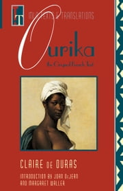 Ourika - The Original French Text ebook by Joan DeJean, Margaret Waller