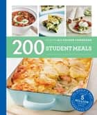 200 Student Meals ebook by Hamlyn