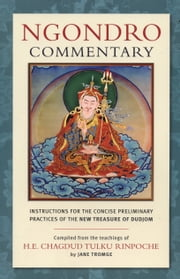 Ngondro Commentary - Instructions for the Concise Preliminary Practices ebook by Jane Tromge,H.E. Chagdud Tulku Rinpoche