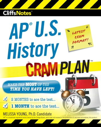 CliffsNotes AP U.S. History Cram Plan ebook by Melissa Young, M.A.
