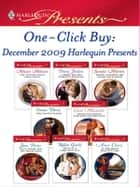 One-Click Buy: December 2009 Harlequin Presents - The Future King's Love-Child\A Bride for His Majesty's Pleasure\Dante: Claiming His Secret Love-Child\The Master Player\Bedded for Passion, Purchased for Pregnancy\Duty, Desire and the Desert King ebook by Melanie Milburne, Penny Jordan, Sandra Marton,...